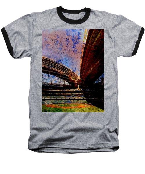 Miller Park 2 W Paint Baseball T-Shirt