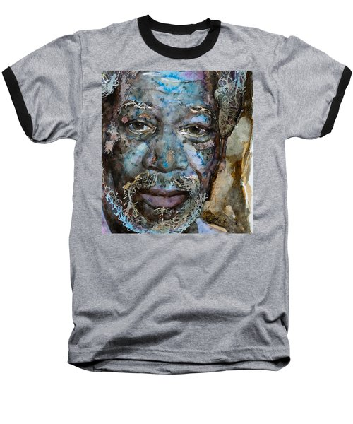 Baseball T-Shirt featuring the painting Million Dollar Baby by Laur Iduc