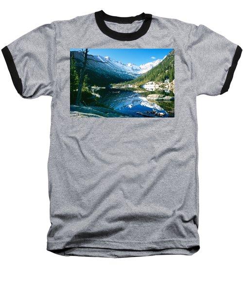 Mills Lake Baseball T-Shirt by Eric Glaser