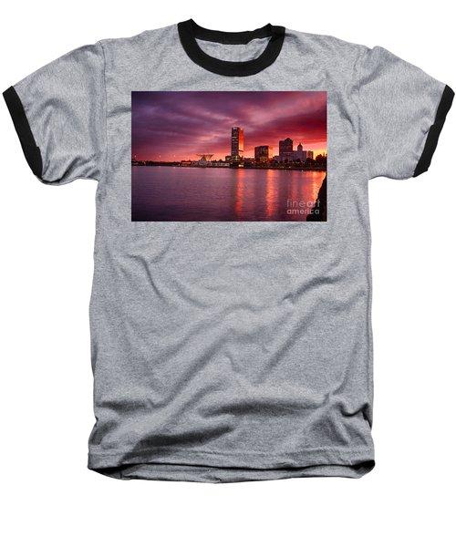 Milwaukee Sunset Baseball T-Shirt