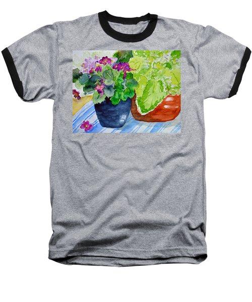 Mimi's Violets Baseball T-Shirt