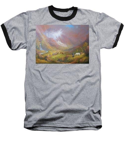 Minas Tirith  War Approaches. Baseball T-Shirt by Joe  Gilronan