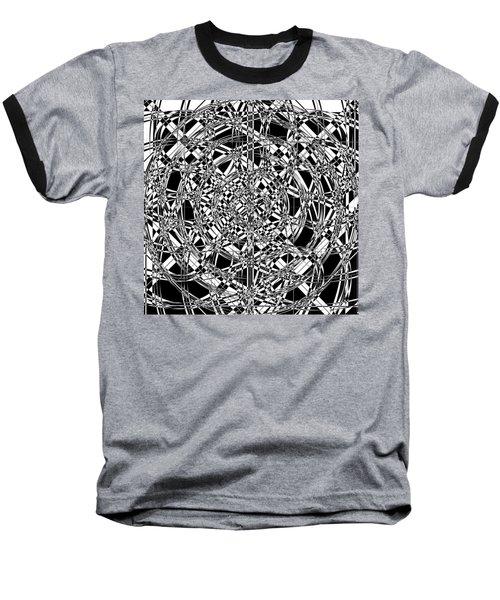 B W Sq 7 Baseball T-Shirt