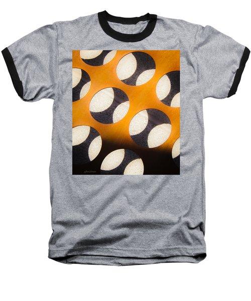 Mind - Hemispheres  Baseball T-Shirt by Steven Milner