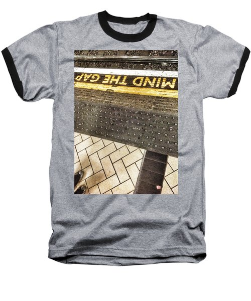 Mind The Gap Baseball T-Shirt