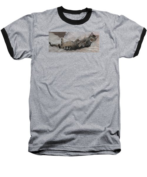 Ming With Slight Attitude Baseball T-Shirt