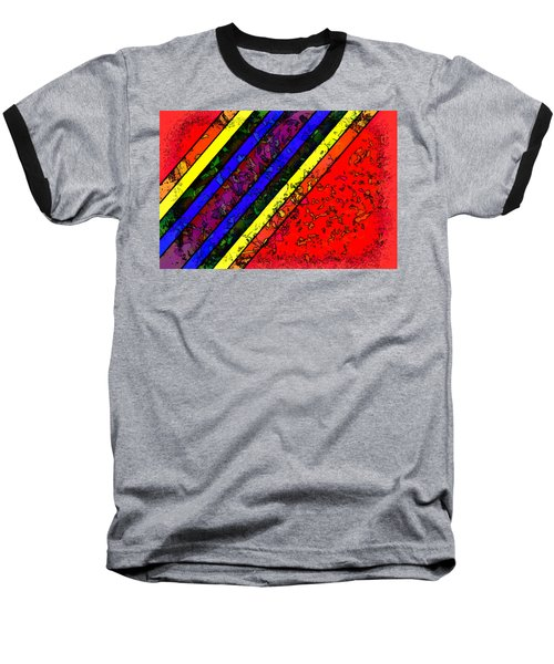 Mingling Stripes Baseball T-Shirt