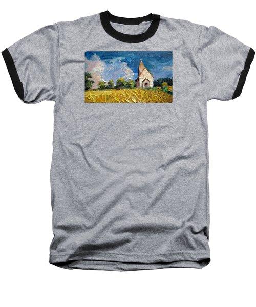 Mini Church Baseball T-Shirt by Jieming Wang