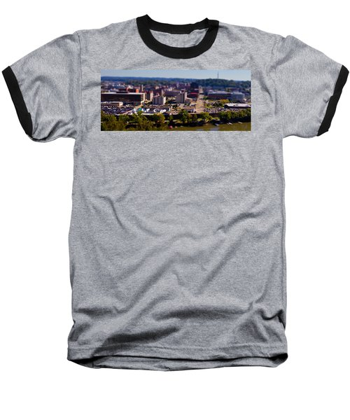 Mini Downtown Parkersburg Baseball T-Shirt