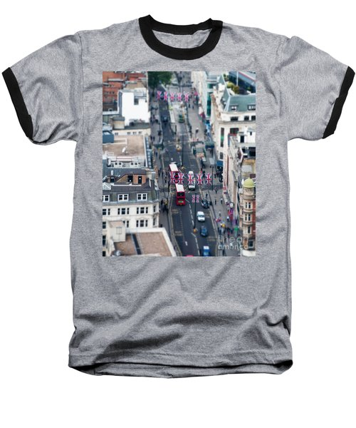 Miniature Oxford Street Baseball T-Shirt