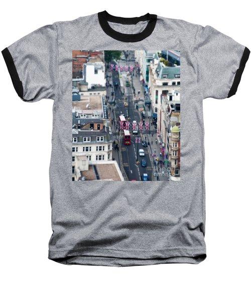 Miniature Oxford Street Baseball T-Shirt by Matt Malloy