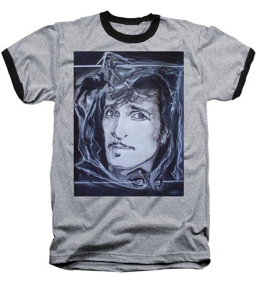 Mink Deville - Coup De Grace Baseball T-Shirt by Sean Connolly