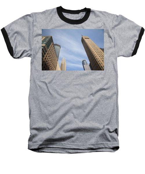 Minneapolis Skyline Baseball T-Shirt