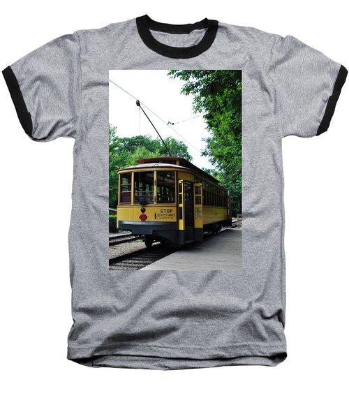 Minnesota Streetcar Museum Baseball T-Shirt