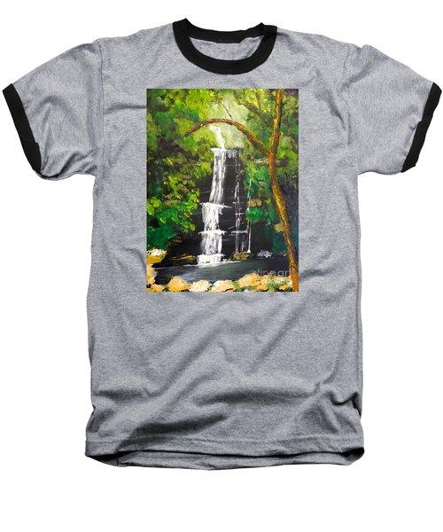 Minnumurra Falls Baseball T-Shirt