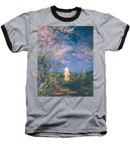 Baseball T-Shirt featuring the photograph Mirage by Judith Morris