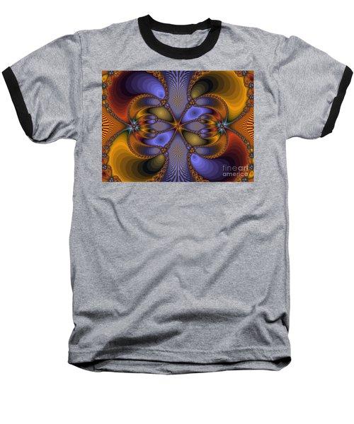 Mirror Butterfly Baseball T-Shirt