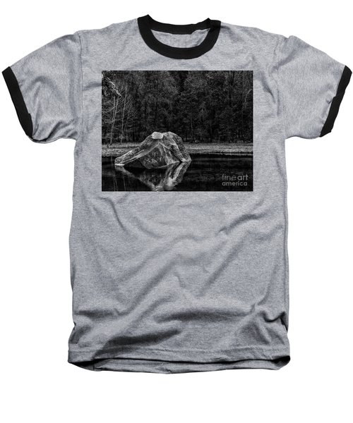 Mirror Lake Boulder Baseball T-Shirt
