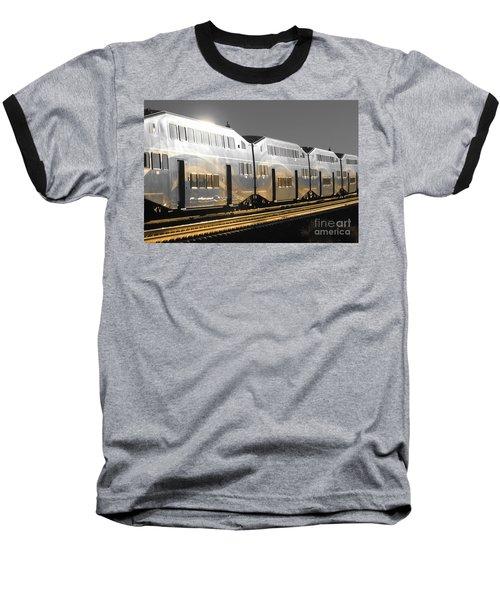 Mirror Of The Winter Sun Baseball T-Shirt