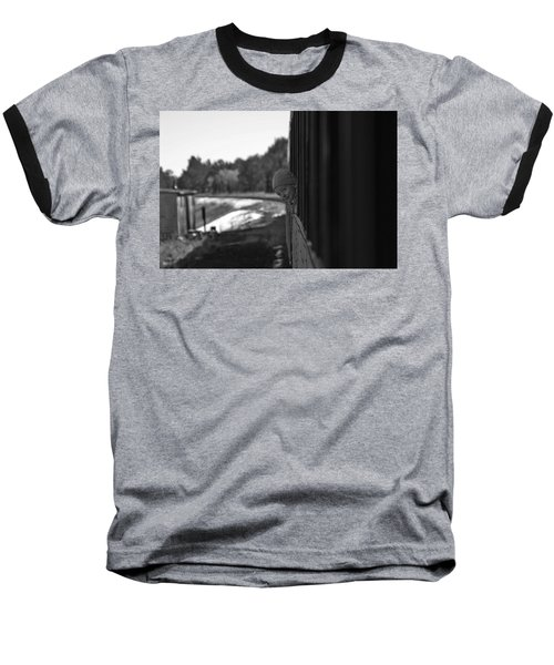 Baseball T-Shirt featuring the photograph Mischief by Jeremy Rhoades