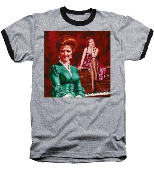 Miss Kitty Baseball T-Shirt