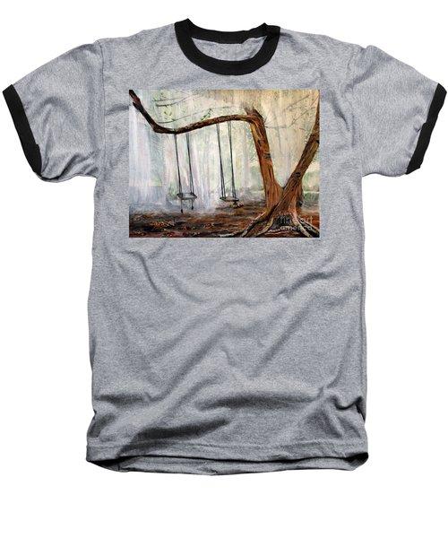 Missing Children Baseball T-Shirt by Marilyn  McNish