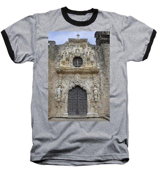 Mission San Jose Doorway Baseball T-Shirt
