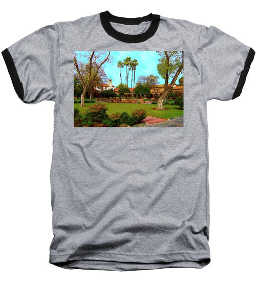 Mission San Juan Capistrano No 11 Baseball T-Shirt