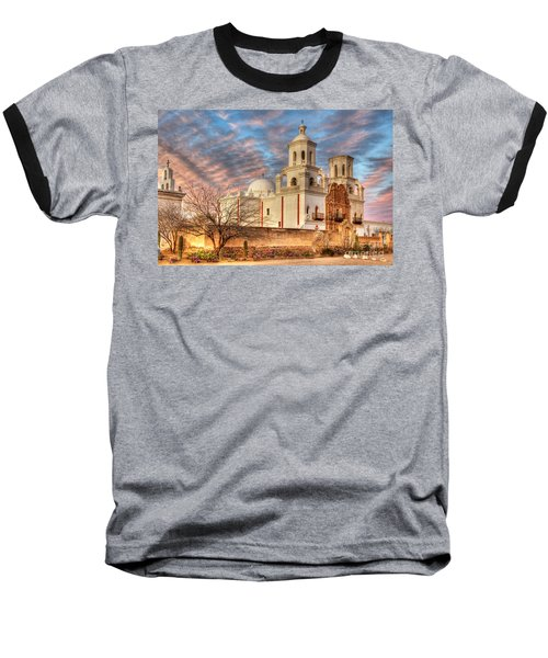 Mission San Xavier Del Bac 2 Baseball T-Shirt