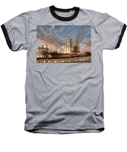 Mission San Xavier Del Bac Baseball T-Shirt