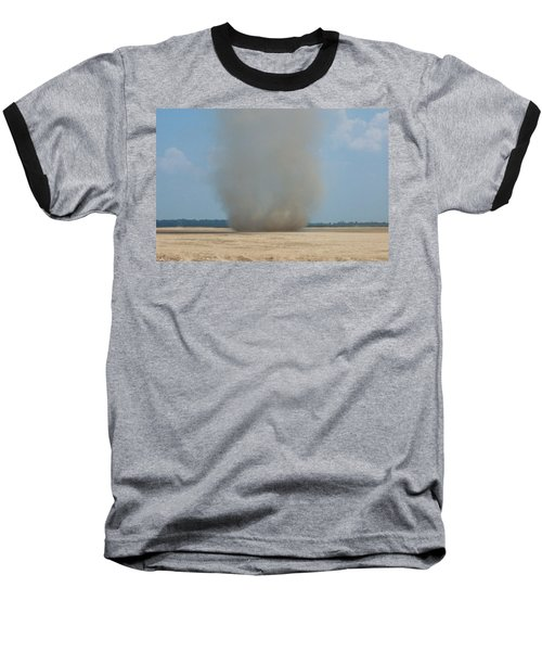 Mississippi Dust Devil Baseball T-Shirt by Fortunate Findings Shirley Dickerson