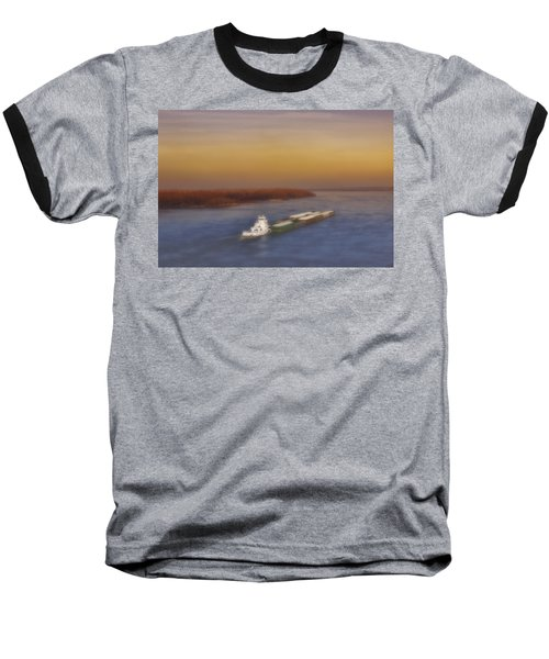 Mississippi Sunset Baseball T-Shirt