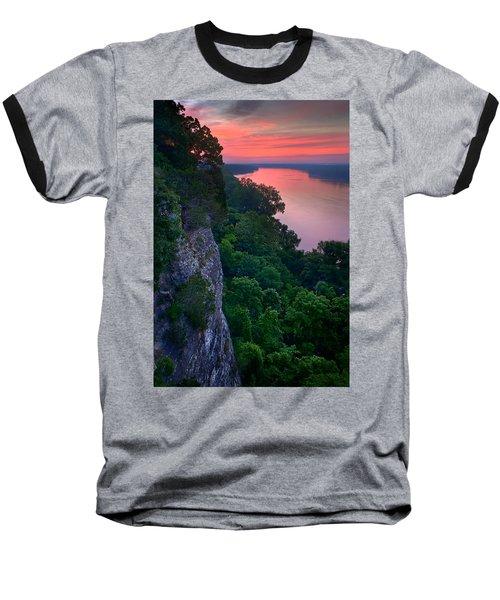 Missouri River Bluffs Baseball T-Shirt