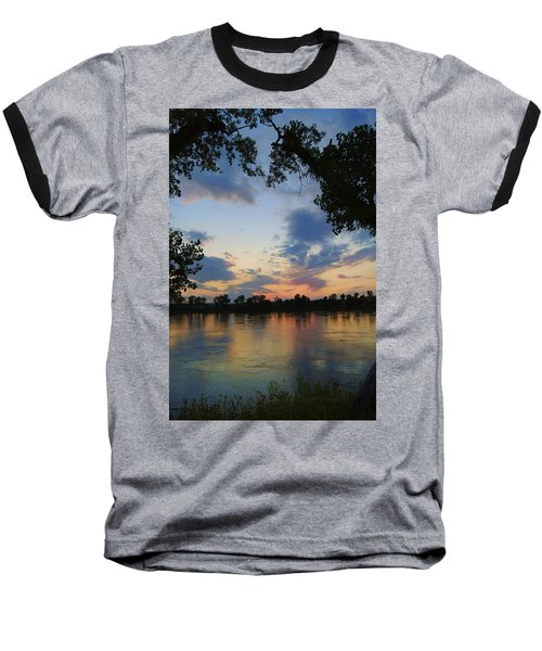 Missouri River Glow Baseball T-Shirt