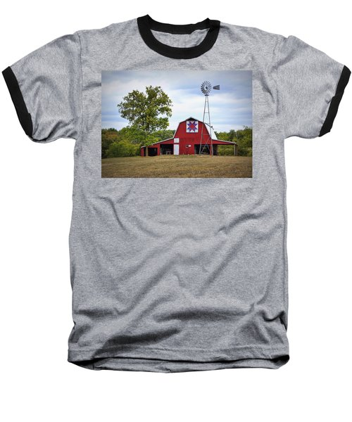 Missouri Star Quilt Barn Baseball T-Shirt