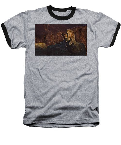 Baseball T-Shirt featuring the photograph Mister Majestic by David Andersen