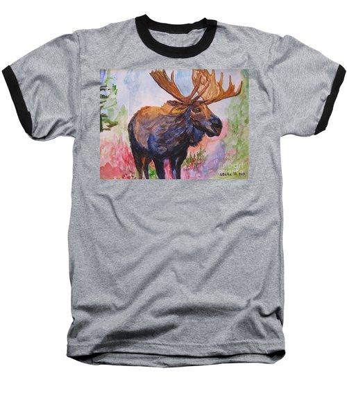 Mister Moose Baseball T-Shirt