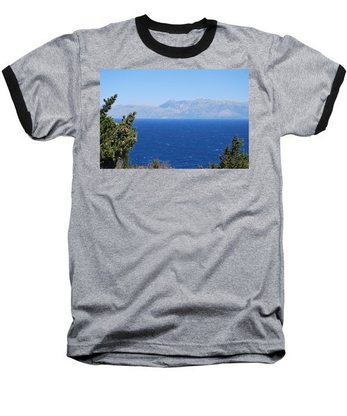 Baseball T-Shirt featuring the photograph Mistral Wind by George Katechis