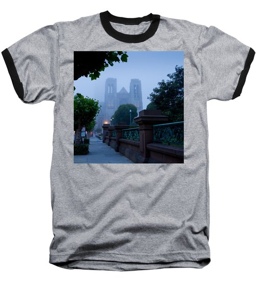 Misty Blues Baseball T-Shirt