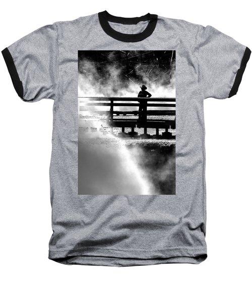 Misty Cowgirl Baseball T-Shirt