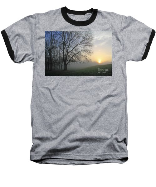 Misty Dawn Baseball T-Shirt