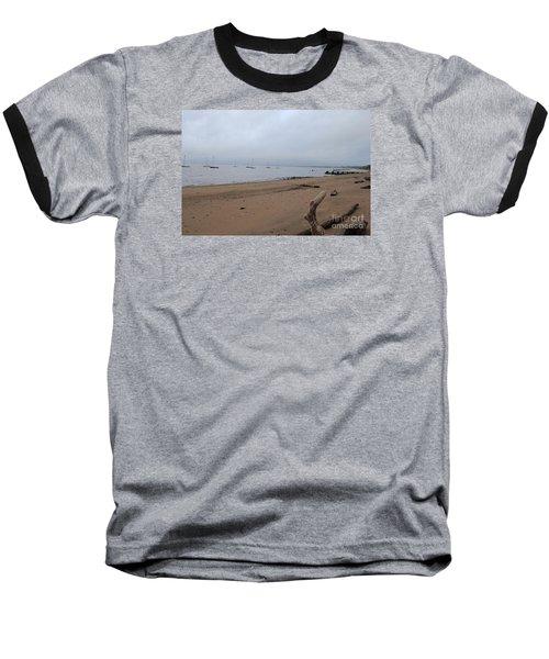 Misty Harbor Baseball T-Shirt by David Jackson