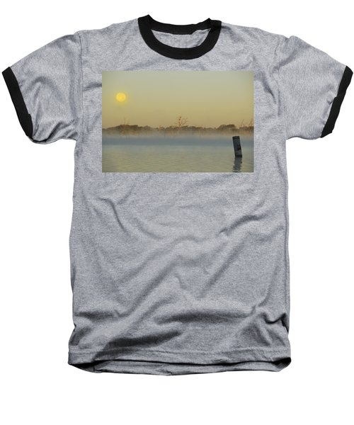 Misty Lake Baseball T-Shirt