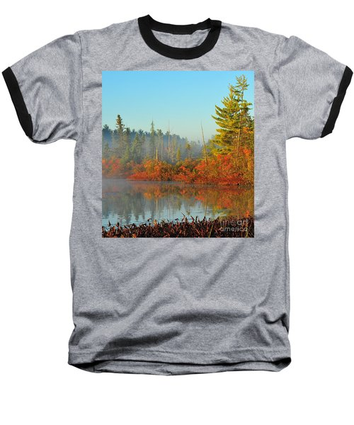 Misty Marsh Baseball T-Shirt