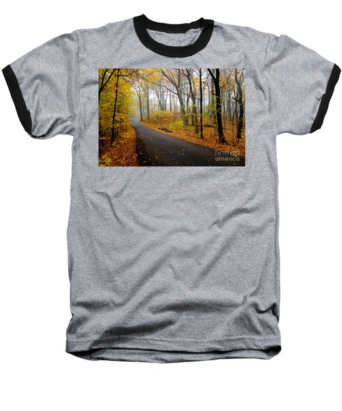 Misty Minnesota Mile Baseball T-Shirt