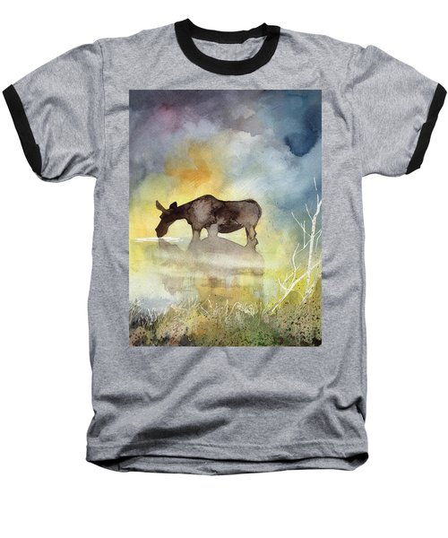 Misty Moose Minerva Baseball T-Shirt