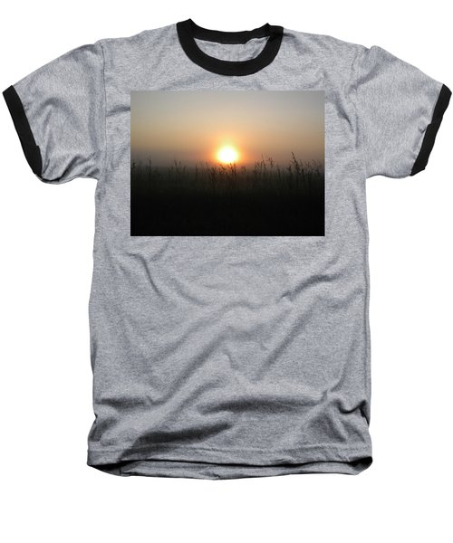Baseball T-Shirt featuring the photograph Misty Morning by James Petersen