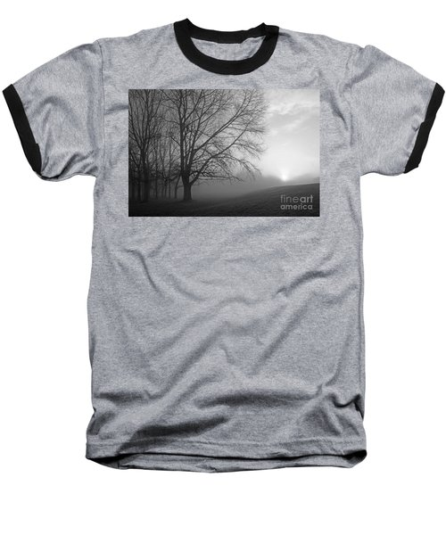Misty Morning Baseball T-Shirt