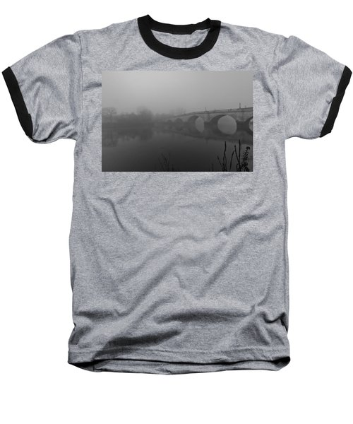 Misty Richmond Bridge Baseball T-Shirt by Maj Seda