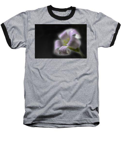 Misty Shamrock 3 Baseball T-Shirt by Susan Capuano